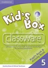 Kid's Box 5 Classware CD-ROM