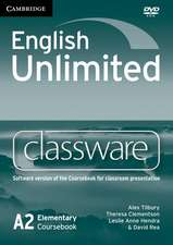 English Unlimited Elementary Classware DVD-ROM