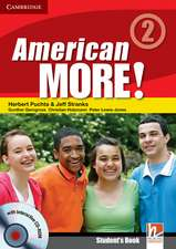 American More! Level 2 Student's Book with CD-ROM