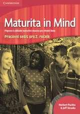 Maturita in Mind Level 2 Workbook Czech edition