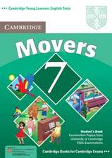 Cambridge Young Learners English Tests 7 Movers Student's Book: Examination Papers from University of Cambridge ESOL Examinations