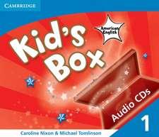 Kid's Box American English Level 1 Audio CDs (3)