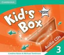 Kid's Box American English Level 3 Audio CDs (3)