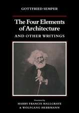 The Four Elements of Architecture and Other Writings