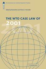 The WTO Case Law of 2001: The American Law Institute Reporters' Studies