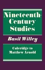 Nineteenth Century Studies: Coleridge to Matthew Arnold