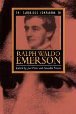 The Cambridge Companion to Ralph Waldo Emerson