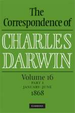 The Correspondence of Charles Darwin Parts 1 and 2 Hardback: Volume 16, 1868: Parts 1 and 2