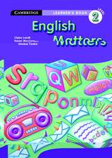 English Matters Grade 2 Learner's Book