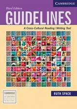 Guidelines: A Cross-Cultural Reading/Writing Text