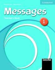 Messages 1 Teacher's Book Italian Version
