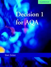 Decision 1 for AQA