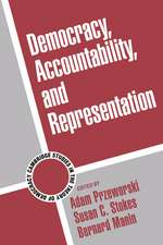 Democracy, Accountability, and Representation