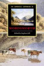 The Cambridge Companion to Wordsworth