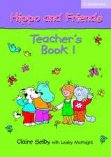 Hippo and Friends 1 Teacher's Book