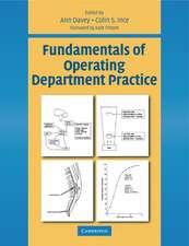 Fundamentals of Operating Department Practice