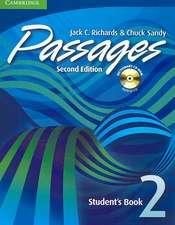 Passages Level 2 Student's Book with Audio CD/CD-ROM: An Upper-Level Multi-Skills Course