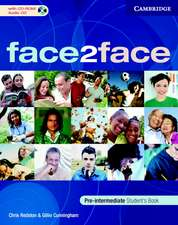 face2face Pre-Intermediate Student's Book with CD-ROM/Audio CD and Workbook Pack Italian Edition