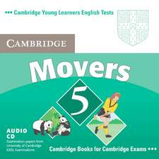 Cambridge Young Learners English Tests Movers 5 Audio CD: Examination Papers from the University of Cambridge ESOL Examinations