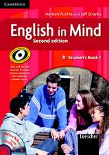 English in Mind Level 1 Student's Book and Workbook with Audio CD and Companion Book Italian Edition
