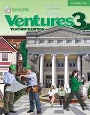 Ventures Level 3 Teacher's Book with Teacher's Toolkit CD-ROM