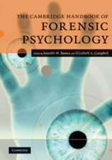 The Cambridge Handbook of Forensic Psychology