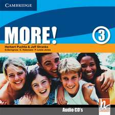 More! Level 3 Class Audio CDs
