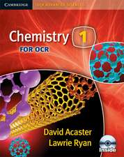 Chemistry 1 for OCR Student Book with CD-ROM