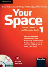 Your Space Level 1 Teacher's Tests and Resource Book with Audio CD/CD-ROM Italian Edition