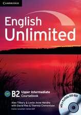 English Unlimited Upper Intermediate Coursebook with e-Portfolio