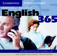 English365 1 Audio CD Set (2 CDs): For Work and Life