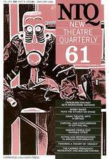 New Theatre Quarterly 61:  Volume 16, Part 1
