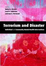 Terrorism and Disaster Hardback with CD-ROM: Individual and Community Mental Health Interventions