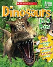 Dinosaurs in a Box [With Cards and Poster and 3 Books]