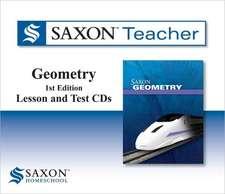 Saxon Geometry Teacher Lesson CDs:  Curious about Nature