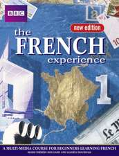 FRENCH EXPERIENCE 1 COURSEBOOK NEW EDITION