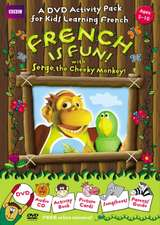 FRENCH IS FUN WITH SERGE, THE CHEEKY MONKEY!