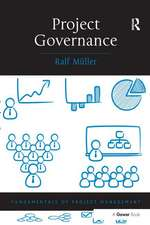 Muller, R: Project Governance