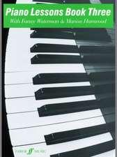 Piano Lessons Book Three