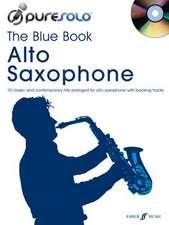 PureSolo: The Blue Book Alto Saxophone