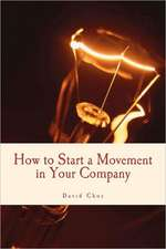 How to Start a Movement in Your Company:  The Bully Diaries