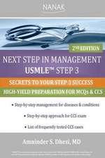 Next Step in Management USMLE Step 3