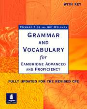 Grammar and Vocabulary for Cambridge Advanced and Proficiency. With Key. Schülerbuch