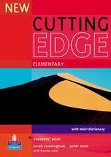 Cutting Edge Elementary New Editions Coursebook