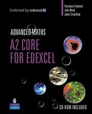 A2 Core Mathematics for Edexcel
