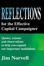 Reflections for the Effective Capital Campaigner