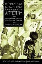 The Elements of Creative and Expressive Artistry