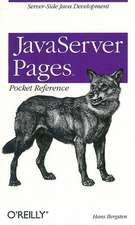 JavaServer Pages Pocket Reference