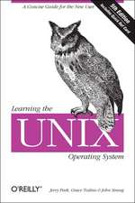 Learning the UNIX Operating System 5e