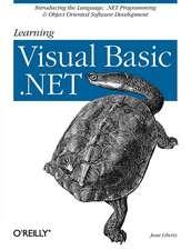 Learning Visual Basic NET